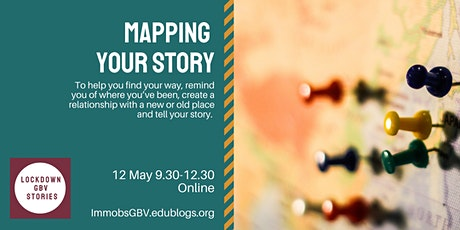 Mapping Your Story - Creative workshop for women living in the UK only tickets