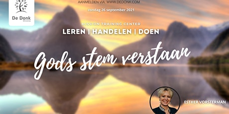Mission Training Center | Esther Vorsterman tickets