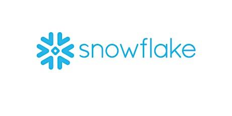 4 Weekends Snowflake cloud data platform Training Course London tickets