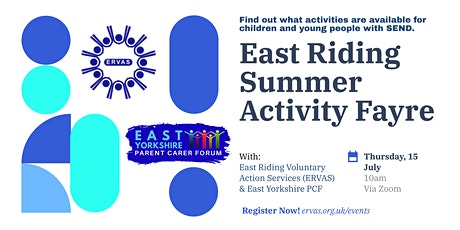 East Riding Summer Activity Fayre tickets