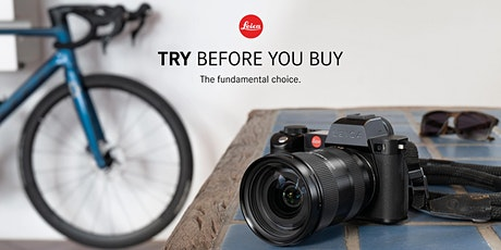 Leica Store Manchester | Test Drive the Leica SL-System tickets