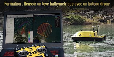 Réussir un levé bathymétrique avec un bateau drone- Formation Escadrone billets