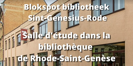 Blokspot Bibliotheek Sint-Genesius-Rode tickets