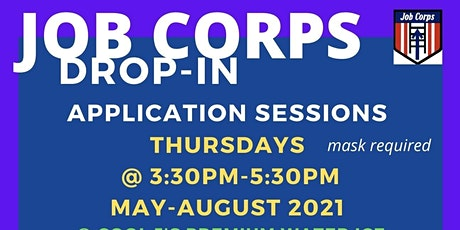 Apply to Enroll in Job Corps @ Cool J's Premium Water Ice in Bear, Delaware tickets