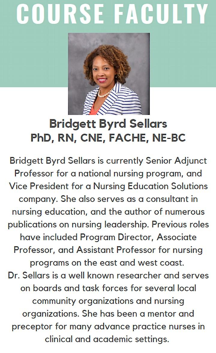 Nurse Educator: NLN Certified Nurse Educator® Prep Course-Session #2 of 2 image