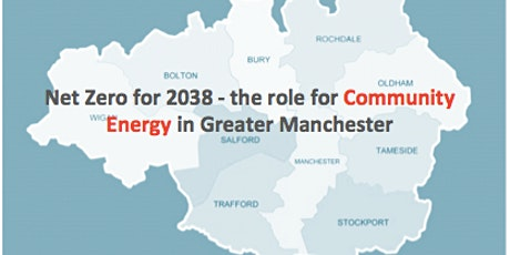 Net Zero for 2038 - the role for Community Energy in Greater Manchester tickets