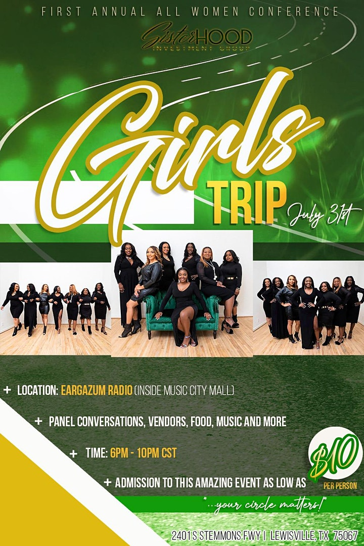 Girls Trip, First Annual All Women Conference image