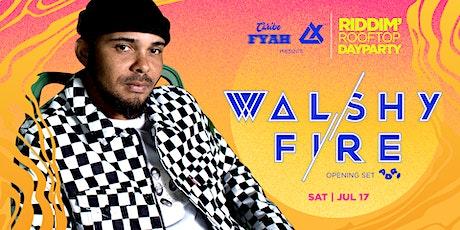 Walshy Fire of Major Lazer @ Kabana Rooftop tickets
