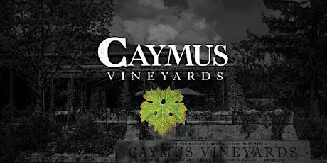VIRTUAL Tasting - Caymus Vineyards tickets