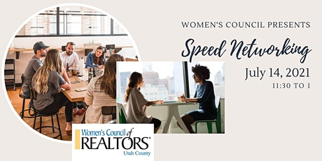 Women's Council of Realtors - Speed Networking tickets