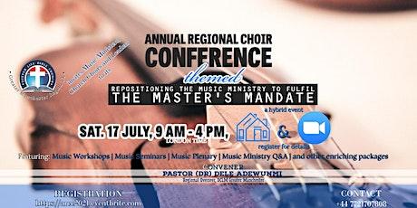 Annual Regional Choir Conference (ARCC) 2021 tickets
