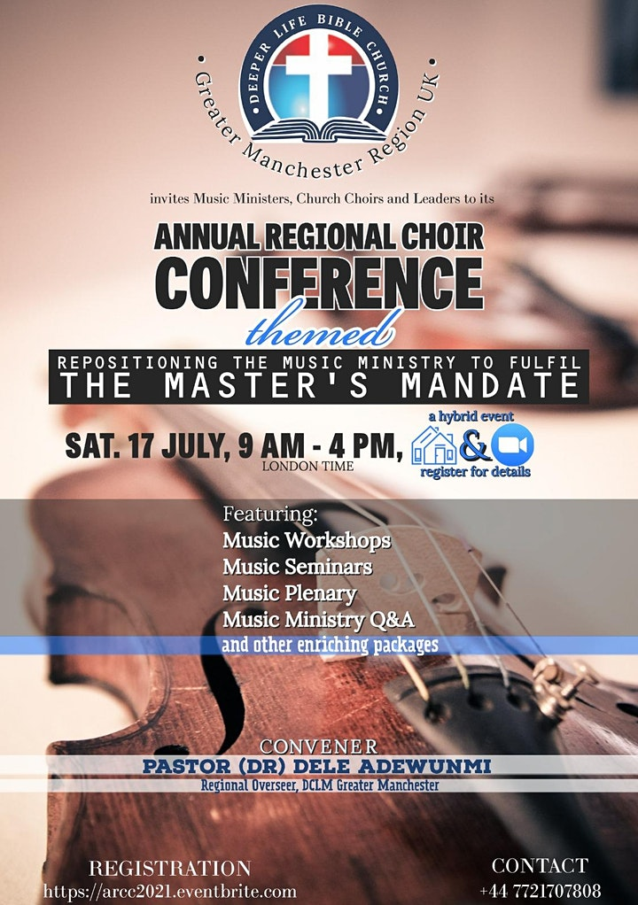 Annual Regional Choir Conference (ARCC) 2021 image