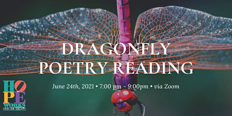Dragonfly Poetry Reading 2021 tickets