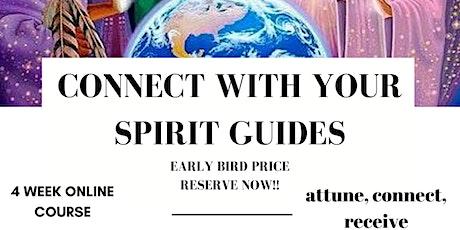 Spirit Guide Attunement - 4 week online course tickets