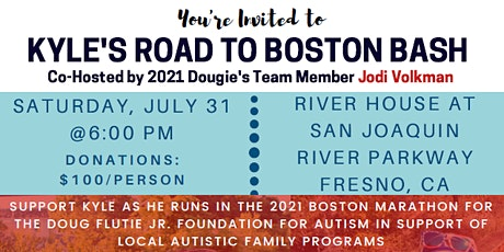 Kyle's Road to Boston Bash tickets