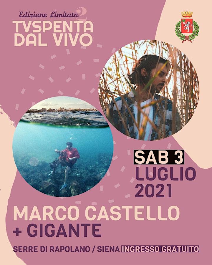 Immagine TVSpenta dal vivo - Edizione Limitata 2: Marco Castello + Gigante