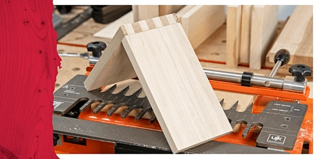 Cardiff Store - Dovetail Joints Using The UJK Universal Dovetail Jig tickets
