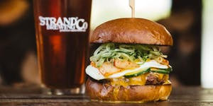 Burger & Beer Dinner Party with Chef Makani & Strand...