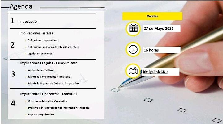 """Imagen de """"Implicaciones Legales, Fiscales y Financieras para Fintechs Autorizadas"""""""