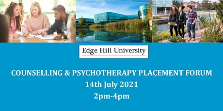 Edge Hill Counselling and Psychotherapy Placement Forum tickets