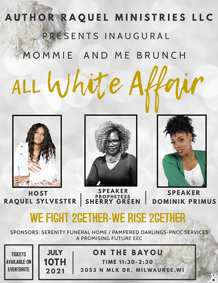 We Fight 2-gether, We Rise 2-gether-Mom and Me Brunch 2021 All-White Affair image