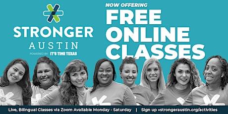 FREE Virtual Zumba Workout tickets