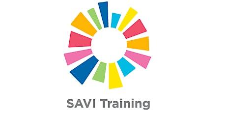 SAVI Data Literacy - Create and Use Client Data (Virtual Training) tickets