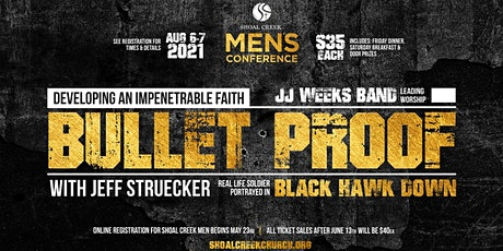 Bullet Proof Men's Conference tickets