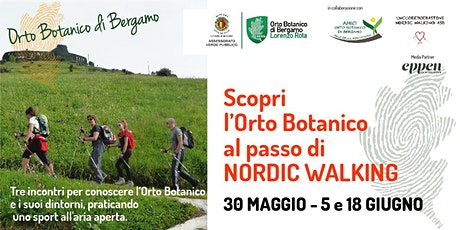 Nordic Walking: scopri Bergamo e i suoi Orti Botanici - III incontro biglietti