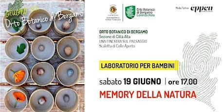 MEMORY DELLA NATURA biglietti