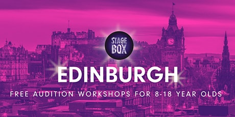 Free Stagebox Audition Workshop | EDINBURGH tickets