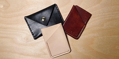 Intro to Leather Working: Hand-Stitched Wallets  (July 25th, 2021) tickets