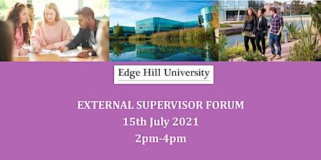 Edge Hill Supervisor Forum 2021 tickets