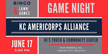 KC AmeriCorps Alliance Game Night! tickets