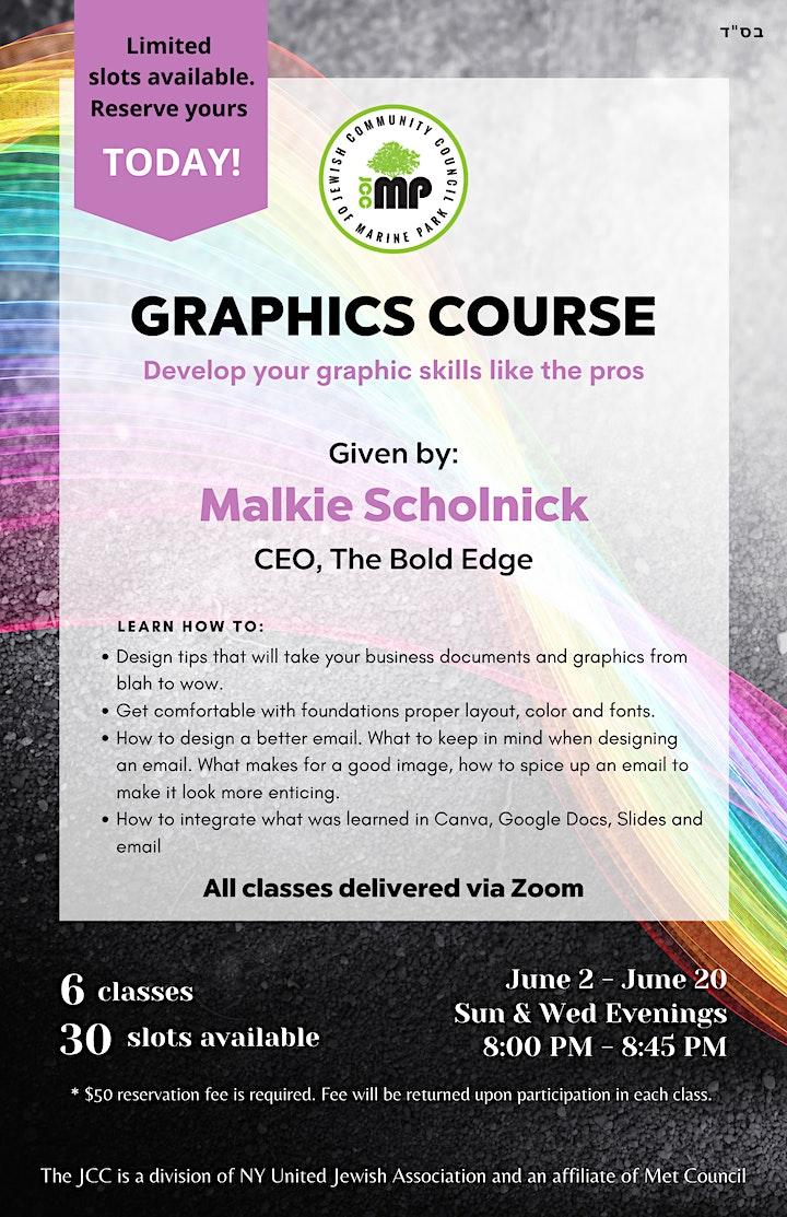 JCCMP Graphics Course image