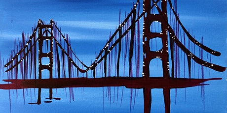 Virtual Painting  Golden Gate Sparkle tickets
