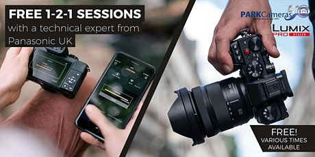 FREE in-store 1-2-1 sessions with Park Cameras and Panasonic: London tickets