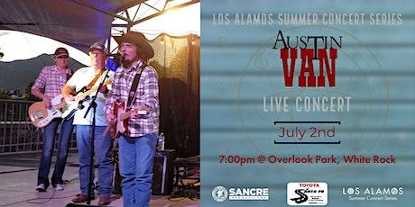 Los Alamos Summer Concert: Austin Van tickets