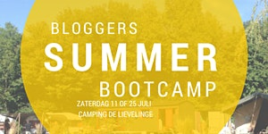 Summer Bootcamp: Bloggen op 11 juli