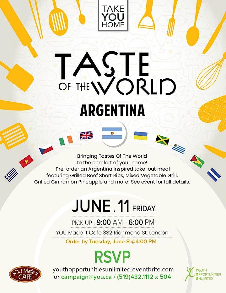 Taste of the World: Argentina image