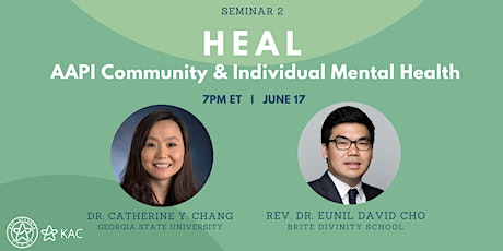 HEAL: AAPI Community and Individual Mental Health tickets