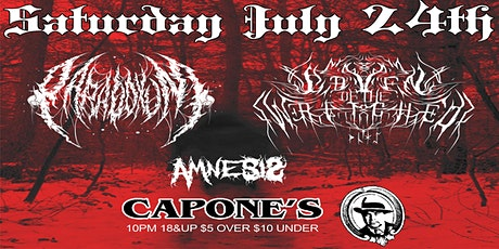 Paradoxum with Coven Of The Wretched and Amnesis tickets