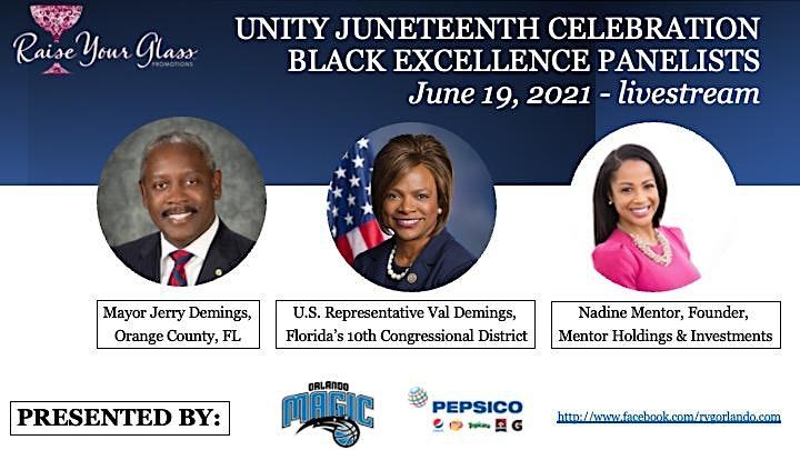 UNITY Juneteenth Celebration - Black Excellence: A State of Mind image