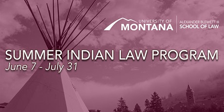 SILP June 21-25: Criminal Justice in Indian Country tickets