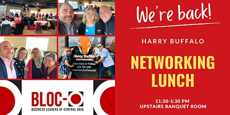 BLOC-O Networking Lunch at  Harry Buffalo tickets
