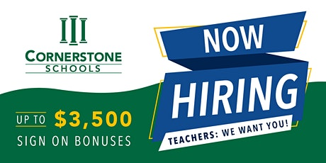 Cornerstone Schools Teacher Fair tickets