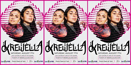 KREWELLA at Lazy Gators 8/7 tickets