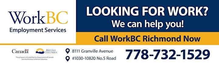 WorkBC Richmond Employer Financial Incentive Info Session image