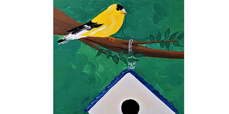 Paints & Pints at 7 Dogs Brew Pub - Stay Gold with Abby Wilner tickets