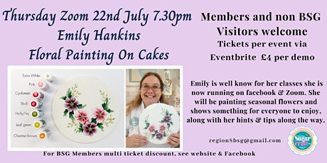 Emily Hankins - Cocoa Butter Painting on Cakes tickets